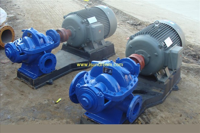 S/SH double suction centrifugal water pump-SUNDREAM INDUSTRIAL ...